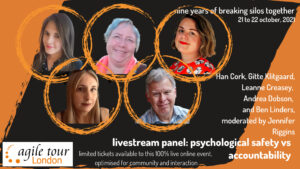 Read more about the article Psychological Safety: Panel at Agile Tour London 2021