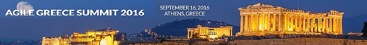 Agile Greece Summit 2016 Banner - Ben Linders
