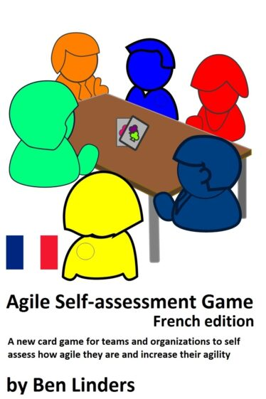 Agile Self-Assessment Game by Ben Linders - French edition - Product cover new