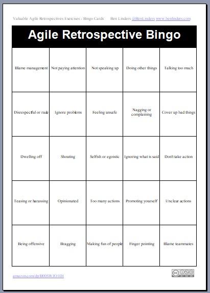 Workplace bingo template