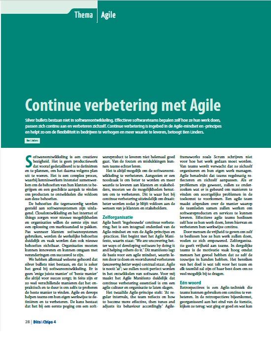 Continue Verbetering met Agile