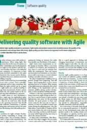 Delivering Quality Software with Agile