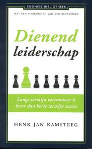 Book Cover: Boek: Dienend leiderschap: lange termijn vertrouwen is beter dan korte termijn succes