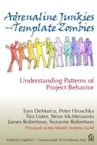 Book Cover: Book: Adrenaline Junkies and Template Zombies