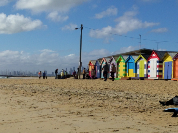 Brighton beach Australia Ben Linders