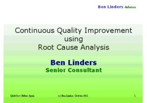 Read more about the article Business Reason for Root Cause Analysis