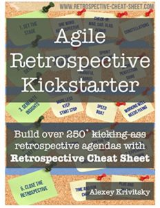 Book Cover: Book: Agile Retrospective Kickstarter