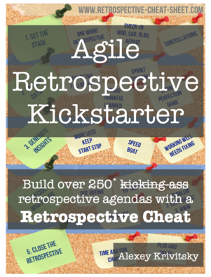Agile Retrospective Kickstarter added to the Retrospectives Books Bundle