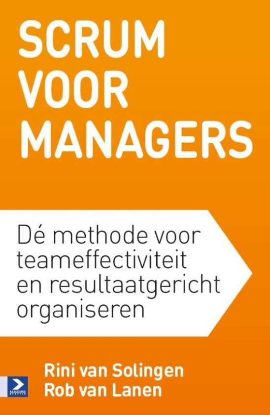 Book Cover: Boek: Scrum voor Managers