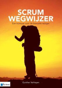 Book Cover: Boek: Scrum wegwijzer - een kompas voor de bewuste reiziger