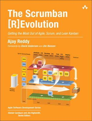 Book Cover: Book: The Scrumban [R]Evolution