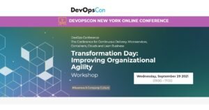 """Read more about the article Transformation Day workshop """"Improving Organizational Agility"""""""
