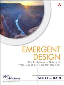 Book Cover: Book: Emergent Design: The Evolutionary Nature of Professional Software Development