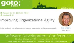 GOTO Berlin: Improving Organizational Agility