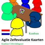 Kanban uitbreidingsset voor Agile Zelfevaluatie Kaarten door Ben Linders - Product cover