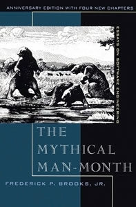 Book Cover: Book: The Mythical Man-Month: Essays on Software Engineering