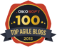 My blog is in the Top 100 Agile Blogs