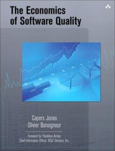 Book Cover: Book: The Economics of Software Quality