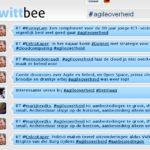 Twitter Wall Agile Overheid