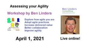 Workshop Self-assessing your Agility – Live Online