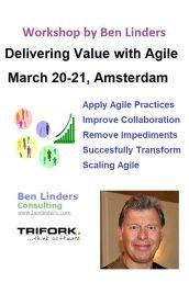 Workshop Delivering Value with Agile Amsterdam