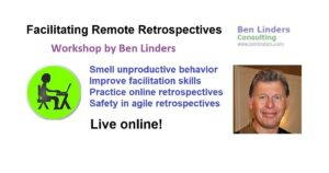 Workshop Facilitating Remote Retrospectives – Live Online