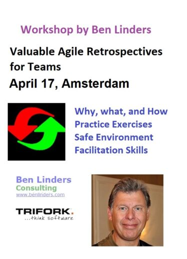 Workshop Valuable Agile Retrospectives for Teams Amsterdam