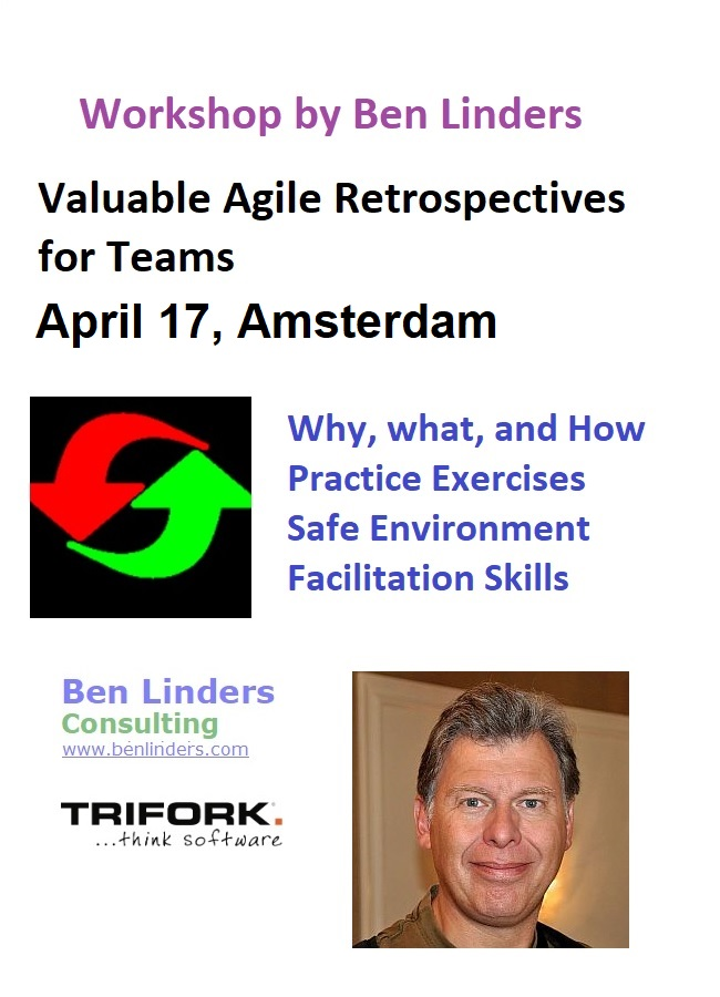 Workshop Valuable Agile Retrospectives for Teams Amsterdam