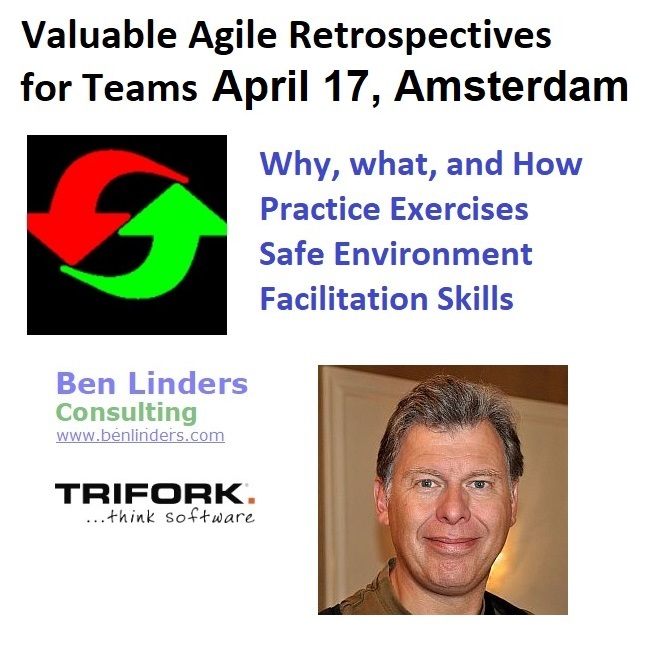 Agile Retrospectives workshop in Amsterdam