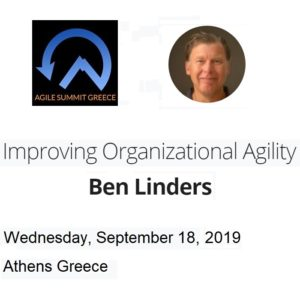 Workshop Improving Organizational Agility in Athens
