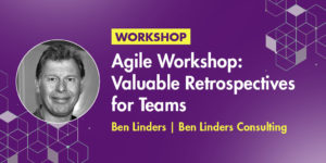 Agile Workshop Valuable Retrospectives for Teams at DevOpsCon Singapore