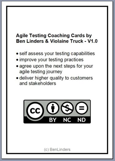 Agile Testing Coaching Cards