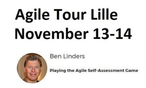 Playing the Agile Self-assessment Game at Agile Tour Lille