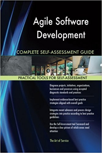Book Cover: Book: Agile Software Development Complete Self-Assessment Guide