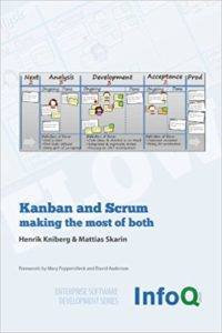 Book Cover: Book: Kanban and Scrum