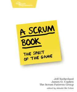 Book Cover: Book: A Scrum Book