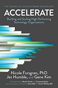 Book Cover: Book: Accelerate