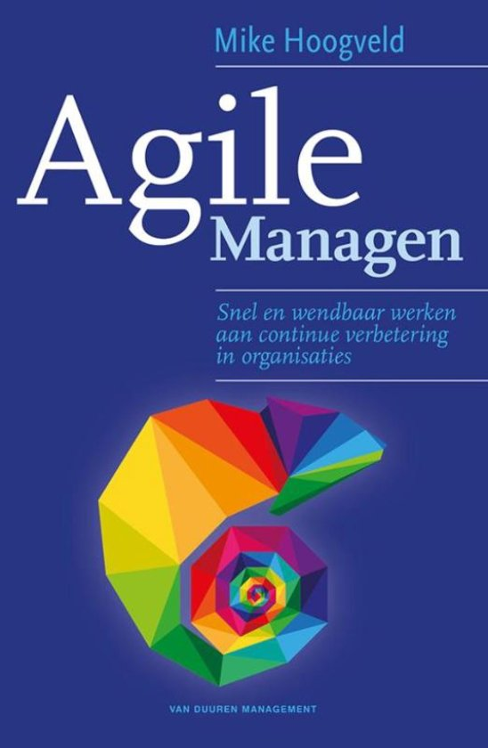 Book Cover: Boek: Agile Managen