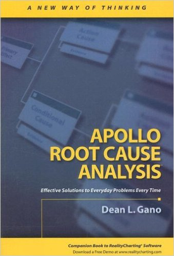 Book Cover: Book: Apollo Root Cause Analysis: A New Way of Thinking