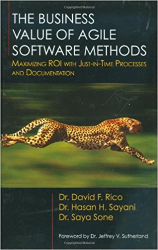 Book Cover: Book: The Business Value of Agile Software Methods