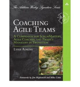 Book Cover: Book: Coaching Agile Teams