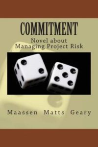 Book Cover: Book: Commitment: Novel about Managing Project Risk