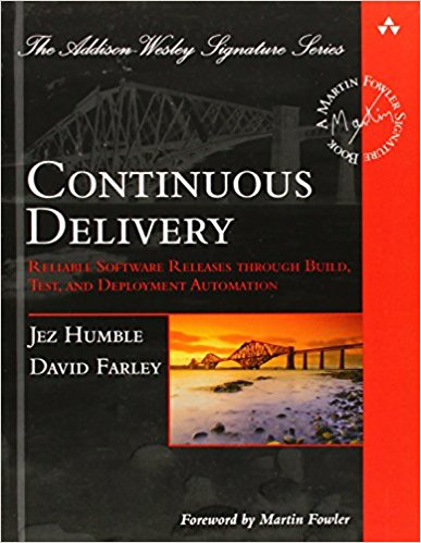 Book Cover: Book: Continuous Delivery