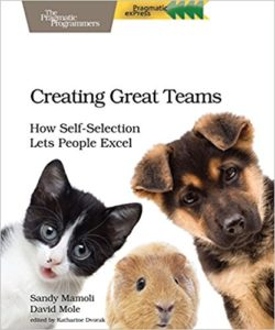 Book Cover: Book: Creating Great Teams