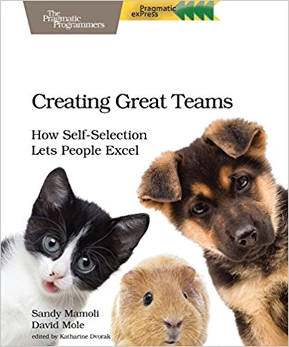 Book: Creating Great Teams