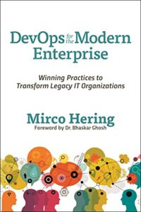 Book Cover: Book: DevOps for the Modern Enterprise