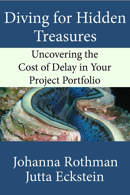 Book Cover: Book: Diving for Hidden Treasures: Uncovering the Cost of Delay in Your Project Portfolio