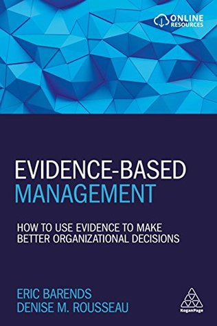 Book Cover: Book: Evidence-Based Management
