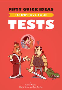 Book Cover: Book: Fifty Quick Ideas to Improve Your Tests
