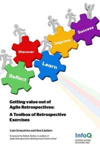 Book Cover: Book: Getting Value out of Agile Retrospectives – A Toolbox of Retrospective Exercises